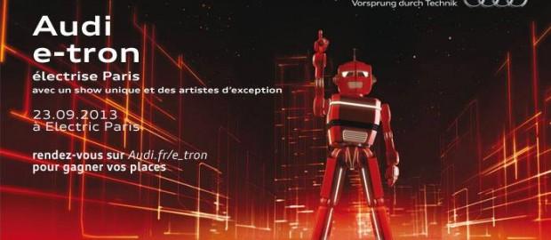 AUDI #e_tron électrise Paris