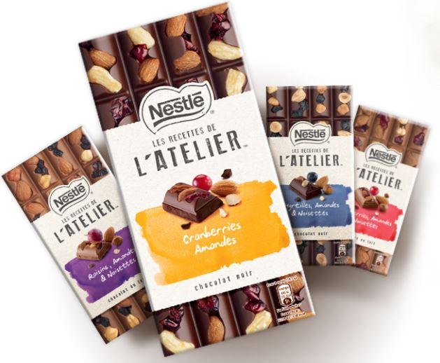 Nestle Chocolat - Les Recettes de l'Atelier