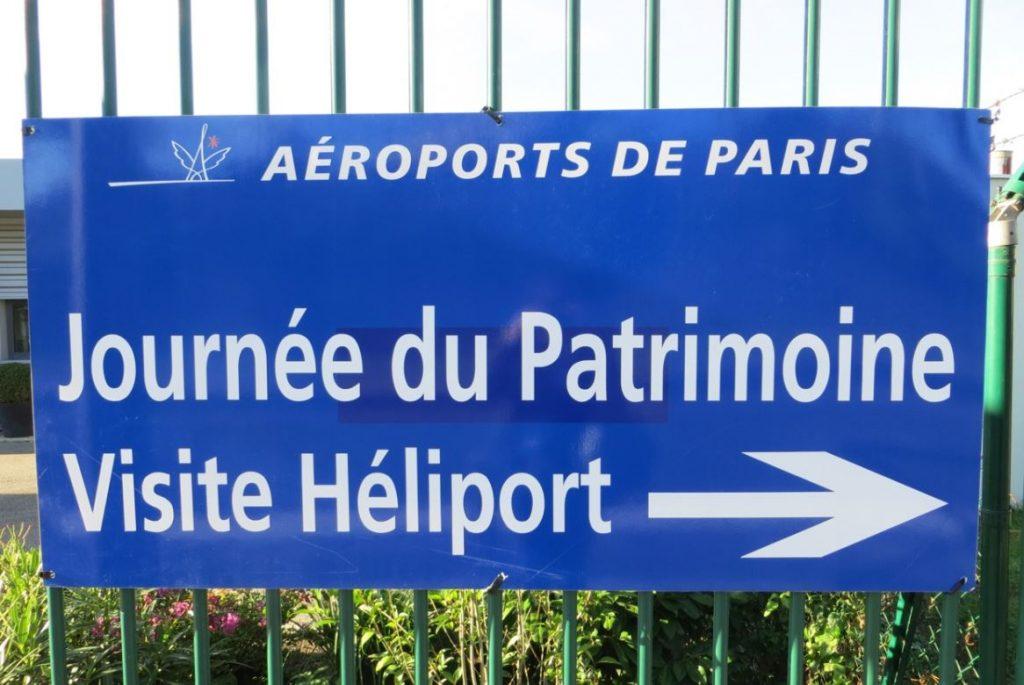 Aéroport de Paris visite Héliport Issy-les-Moulineaux Journee du Patrimone crédit photo UFH.dr