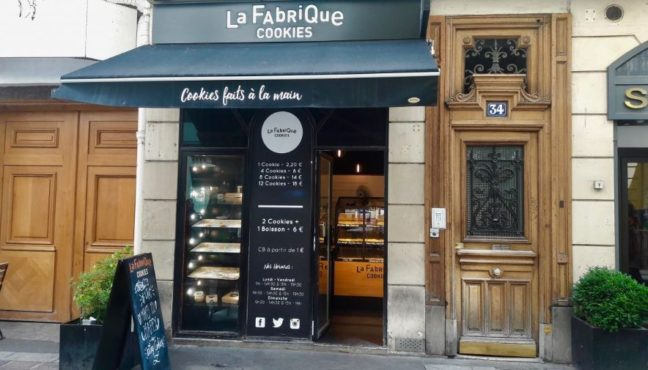 Boutique La Fabrique Cookies Paris - Cookie Day 12 septembre 2018