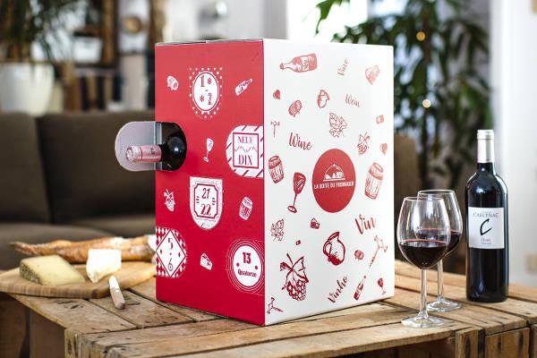 Calendrier de l'Avent vins de France