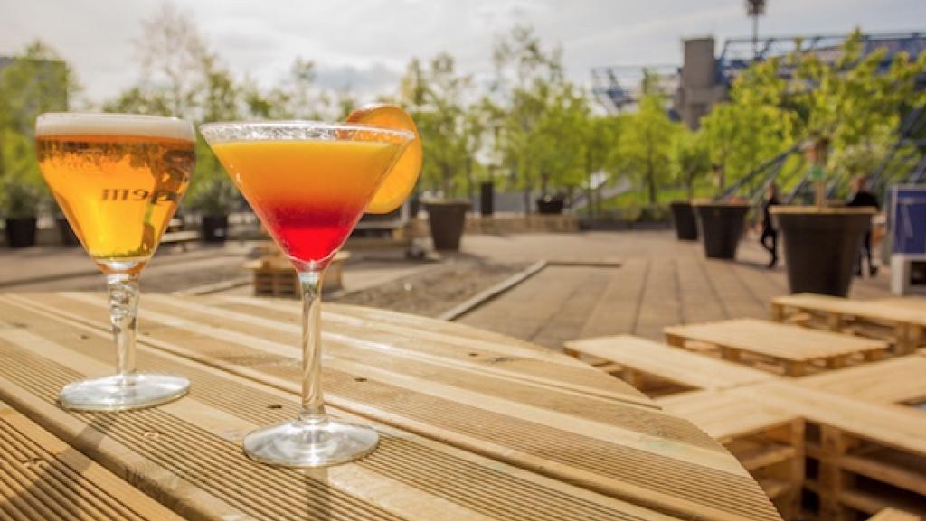 Le Papa Cabane où prendre un cocktail en été à Paris