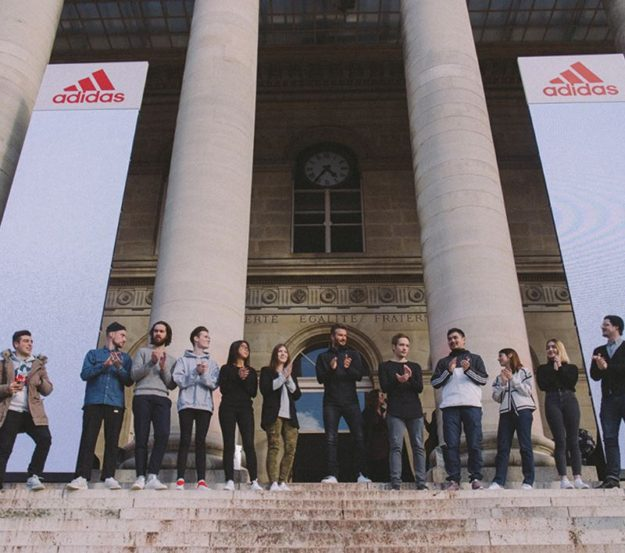 David Beckham à Paris ADIDAS workshop Palais Brogniart