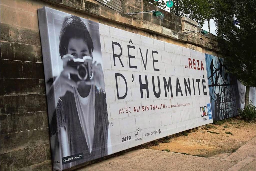 Exposition Rêve d'Humanité Reza Deghati - Quais de Seine Paris