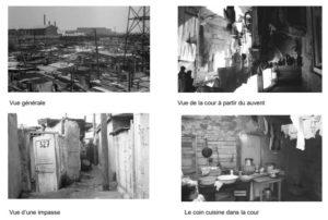Exposition photos bidonville de Nanterre - Photos Serge Santelli - Numérisation Vincent Lefebvre