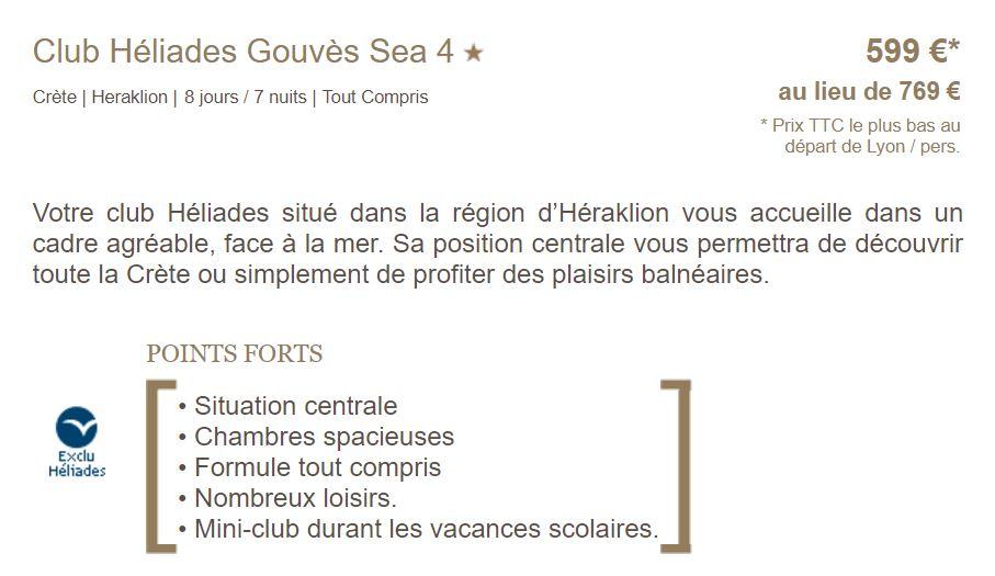 Fiche Club Héliades Gouves