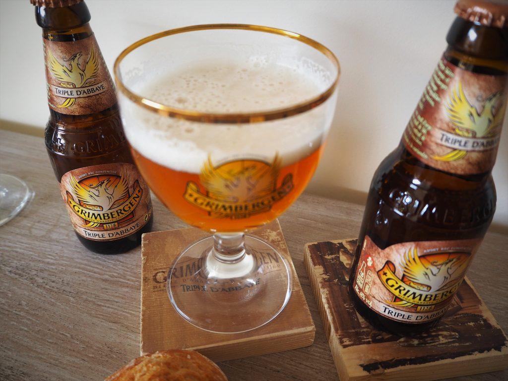 Grimbergen bière Triple d'Abbaye nouveau