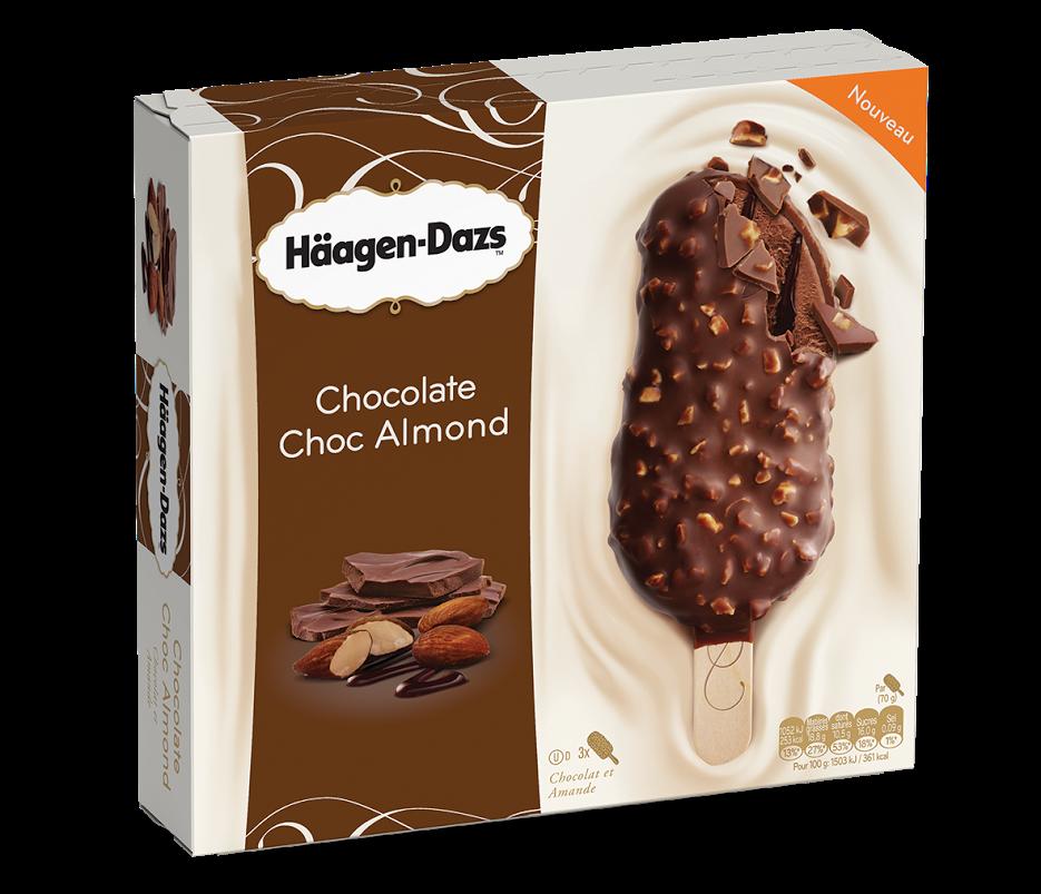 Häagen-Dazs Style Chocolate Choc Almond