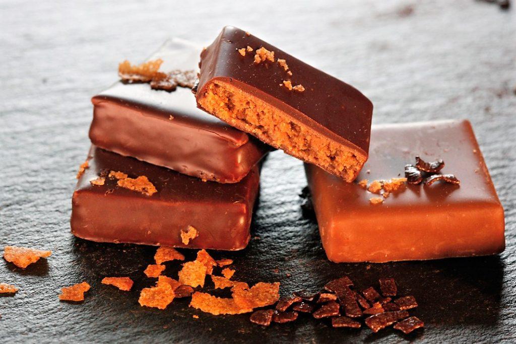 Jacques Genin ganache chocolat noir au poivre de Sichuan