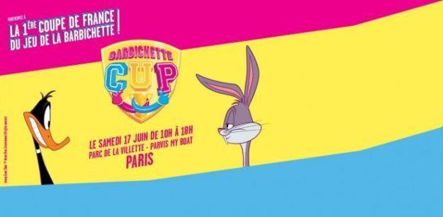 Jeu de la Barbichette Cup Paris 17 juin 2017 Boomerang TV Bon plan gratuit à Paris Parc de la Villette