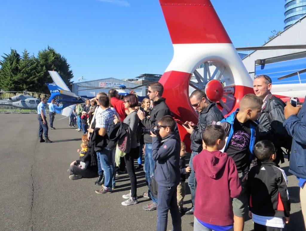 Journée du Patrimoine visite Héliport Issy les Moulineaux Aéroport de Paris - Photo UFH.dr