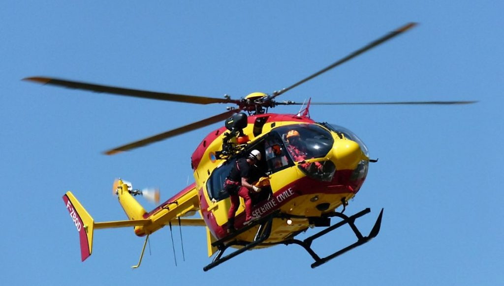 Journée du Patrimone Hélicoptère Protection Civile Héliport Issy les Moulineaux Photo UFH.dr