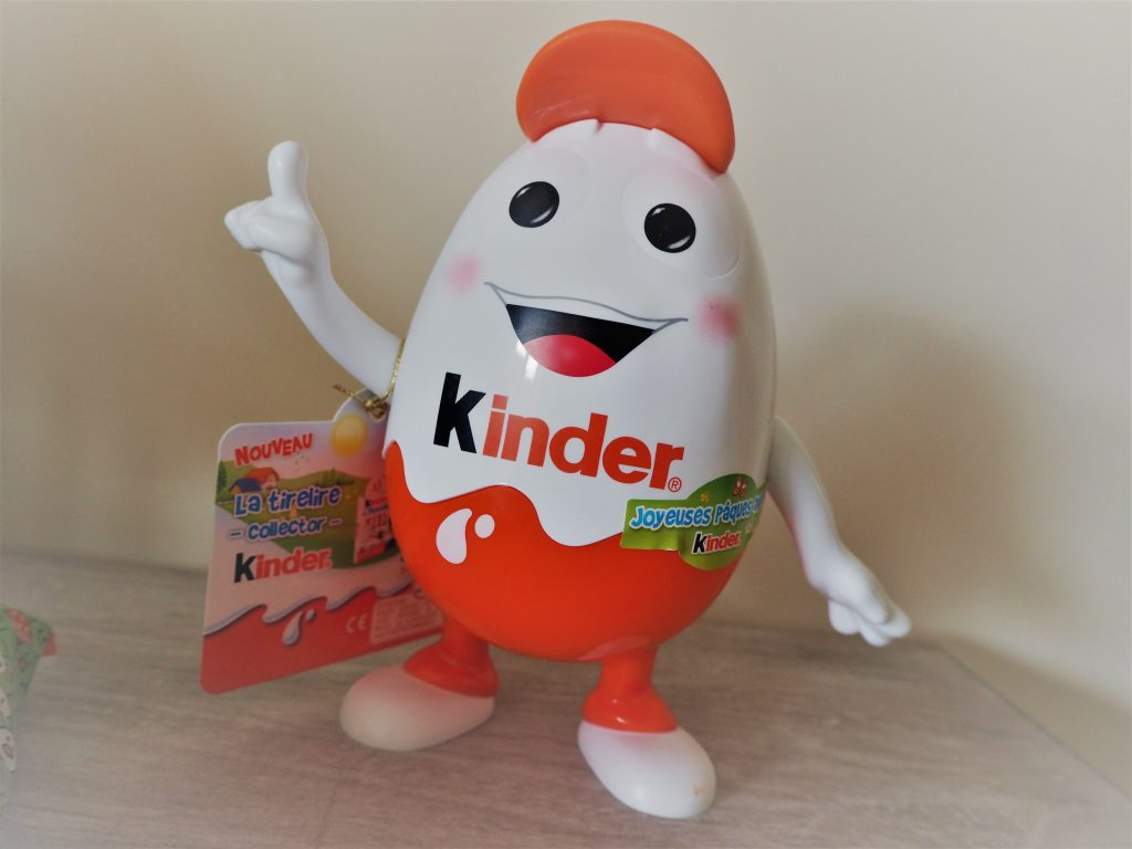 KINDERINO personnage KINDER Pâques