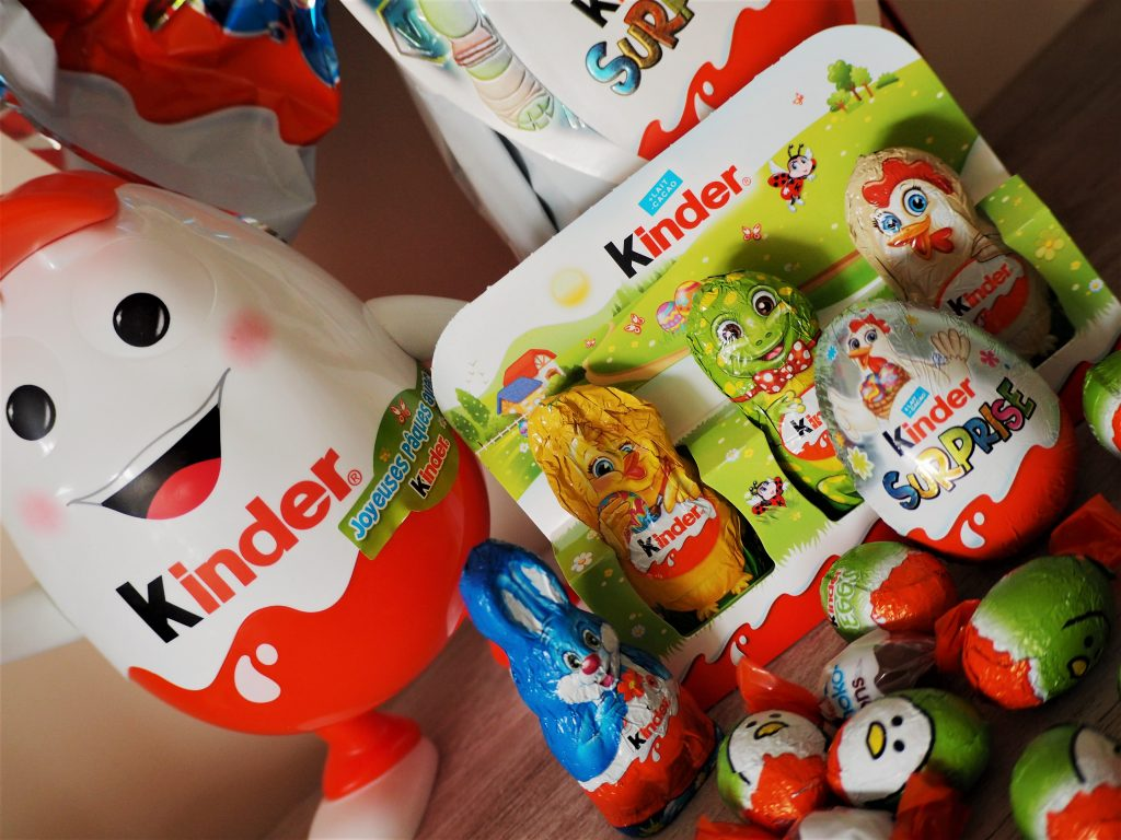 Kinder surprise chocolats de Pâques