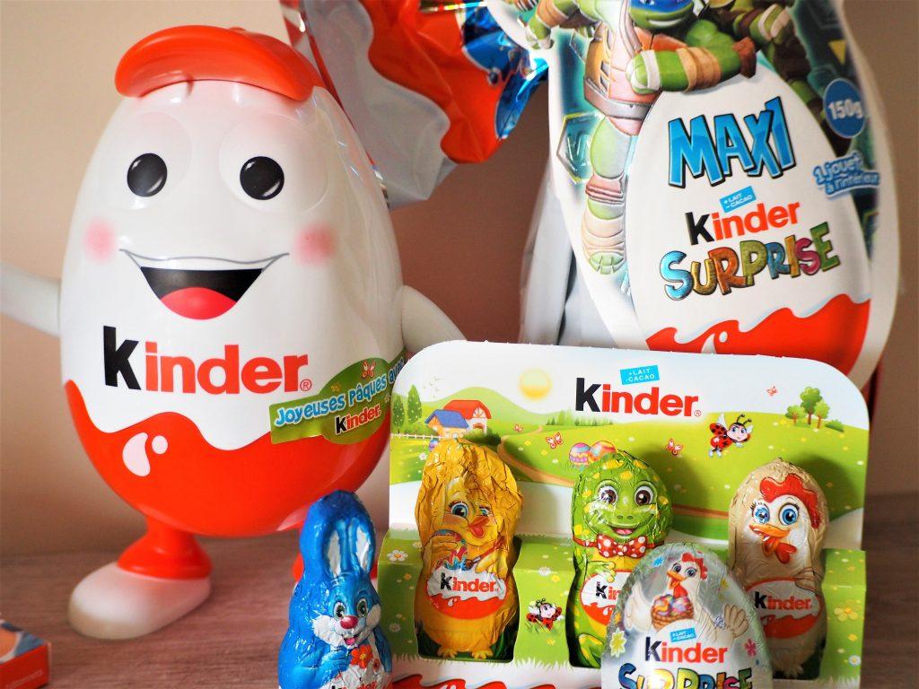 Kinder maxi surprise cadeau chocolats de Pâques