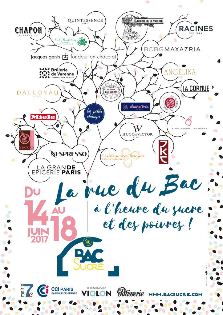 La rue du Bac 14 au 18 juin 2017 A l'heure du sucre et des poivres Dégustations et ateliers culinaires gratuits à Paris rue du Bac