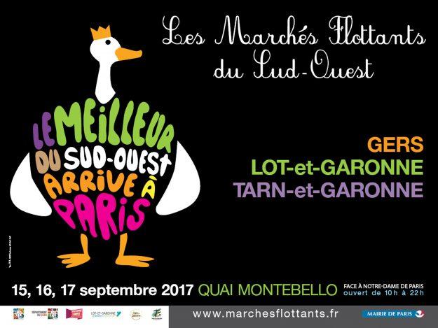 Marché gastronomique et fête du Sud Ouest à Paris