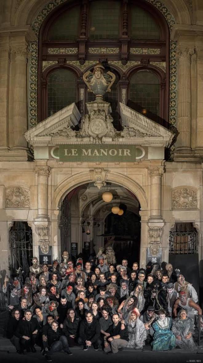 Paris le manoir hant de la capitale darks nights 13 14 f vrier 2015 romain paris - Cultiver des champignons de paris a la maison ...