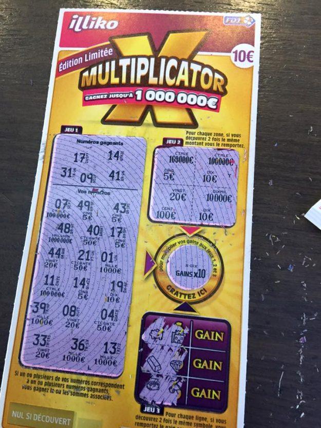 Multiplicator Francaise des Jeux