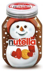 Nutella Noël 2016