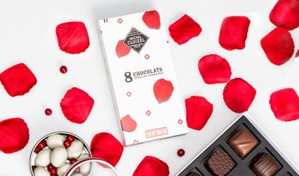 8 raisons dire je t 39 aime avec des chocolats romain paris. Black Bedroom Furniture Sets. Home Design Ideas