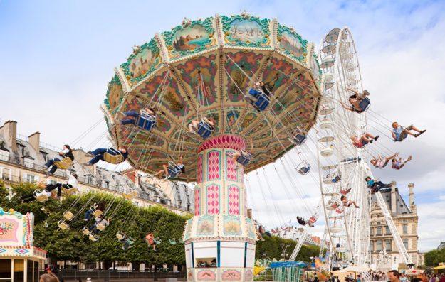 Paris Fête des Tuileries manèges famille Photo Office du Tourisme de Paris ©-OTCP-Marc-Bertrand