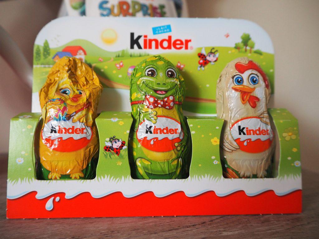 Personnages KINDER Chocolats Pâques