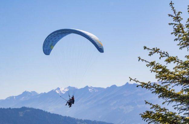 Initiation saut en parachute