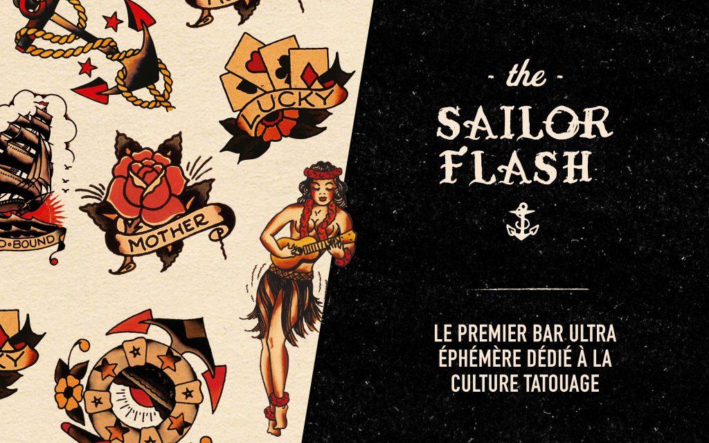 Bar éphémère à Paris The Sailor Flash
