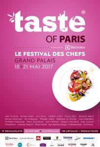 Taste of Paris Le Festival des Chefs Grand Parlais 18 au 21 mai 2017
