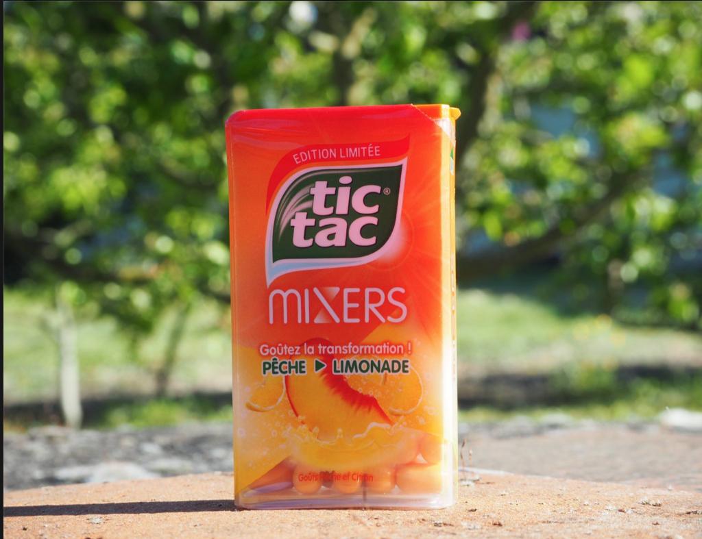 Tic Tac Mixers Pêche Limonade test et avis