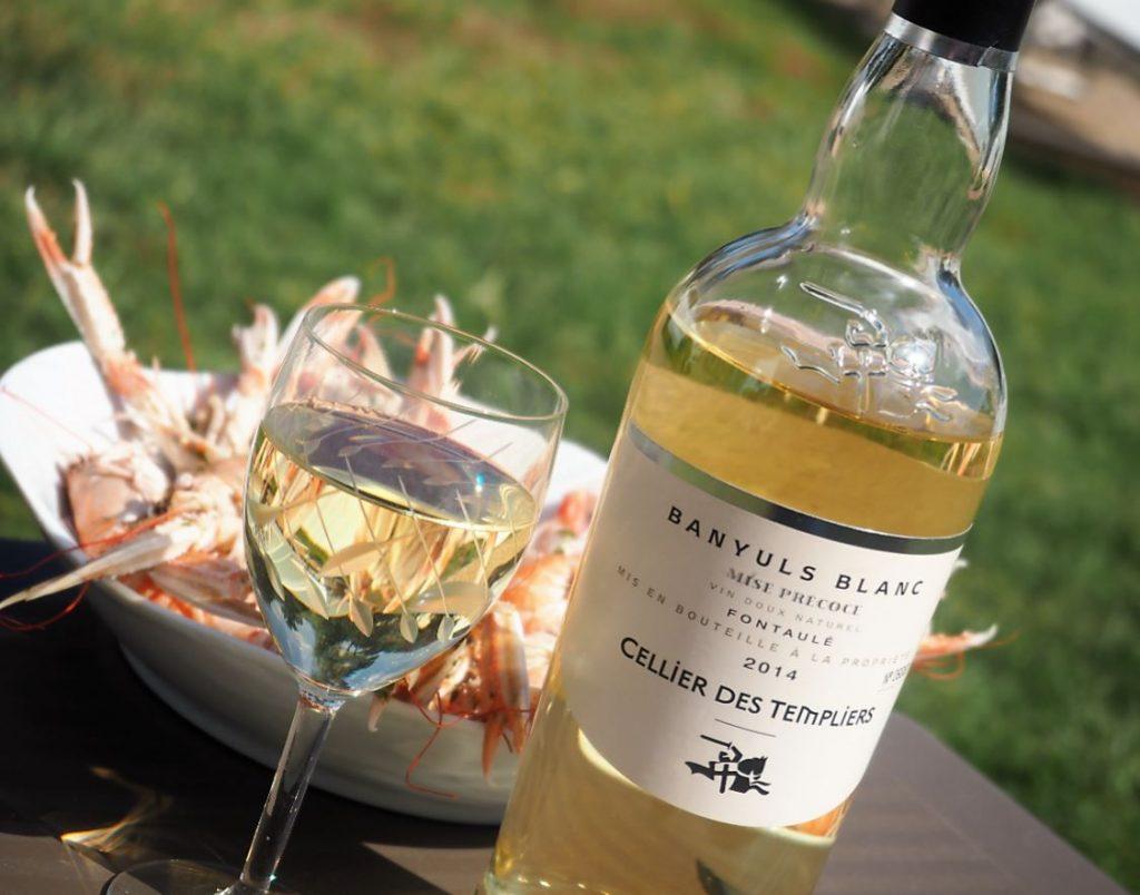 Vin Banyuls Blanc Fontaulé 2014 Terres des Templiers