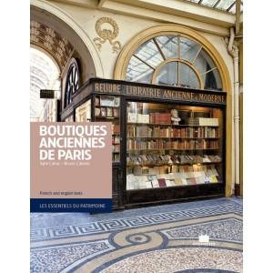 livre boutiques anciennes de paris coup de coeur romain paris. Black Bedroom Furniture Sets. Home Design Ideas