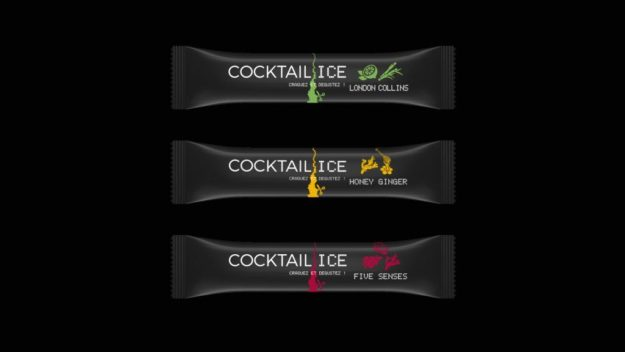 Cocktail ici glaçons cocktail Label 5
