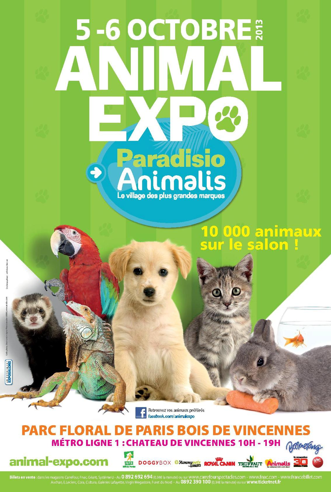 Paris animal expo le salon des animaux de compagnie for Le salon des miroirs paris