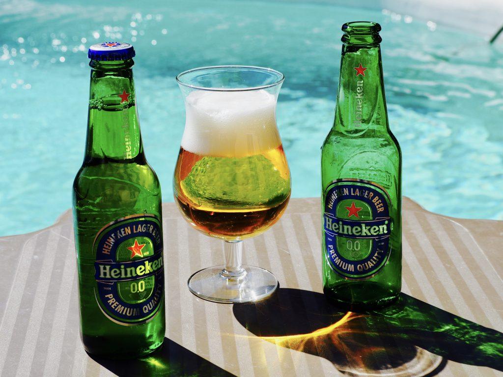 Bière Heineken blonde sans alcool