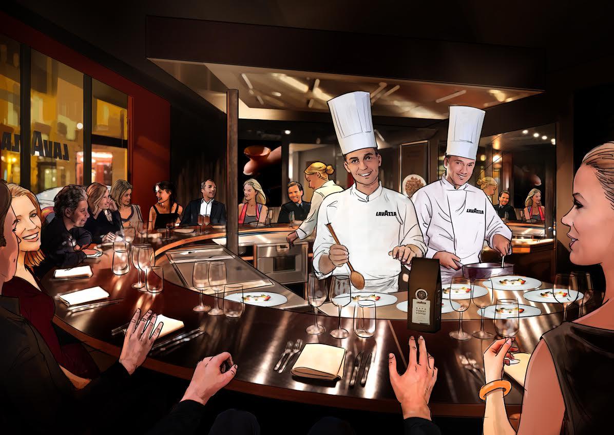 Paris Caf Et Restaurant Ph M Res 120 Ans Lavazza 19 Au 24 Juin Romain Paris