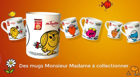 c 39 est cadeau ton mug personnalis monsieur madame gagner romain paris. Black Bedroom Furniture Sets. Home Design Ideas