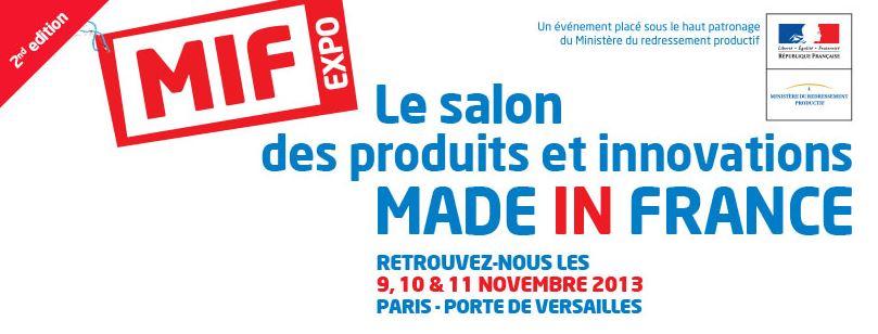 Paris salon des produits made in france porte de for Salon made in france